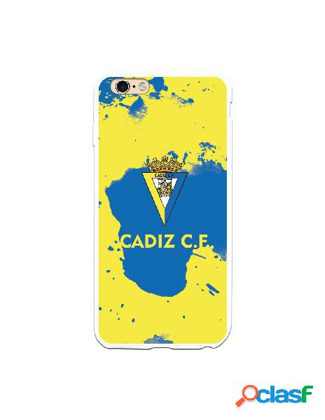 Carcasa para iPhone 6 Plus Cádiz CF Manchas Azules -