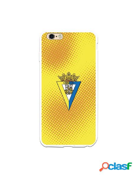 Carcasa para iPhone 6 Plus Cádiz CF Semitono Puntos -