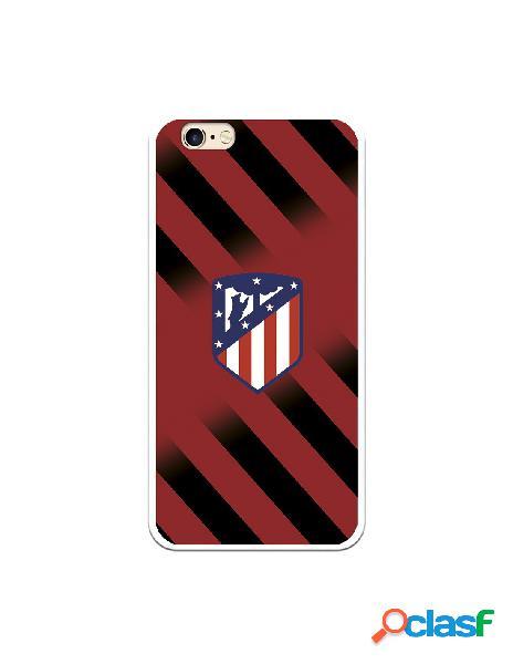 Carcasa para iPhone 6S Atlético de Madrid Fondo Rojo y