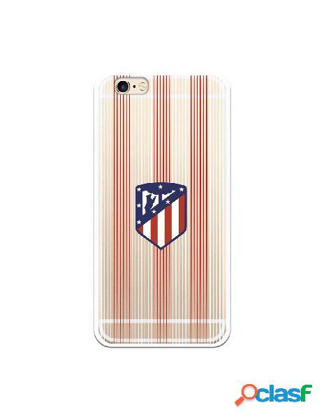 Carcasa para iPhone 6S Atlético de Madrid Lineas