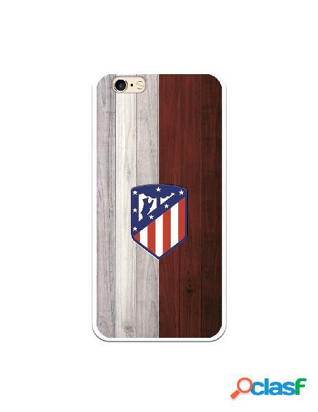 Carcasa para iPhone 6S Atlético de Madrid Madera - Licencia