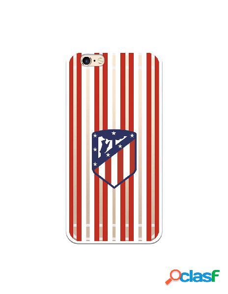 Carcasa para iPhone 6S Atlético de Madrid Rojiblanco