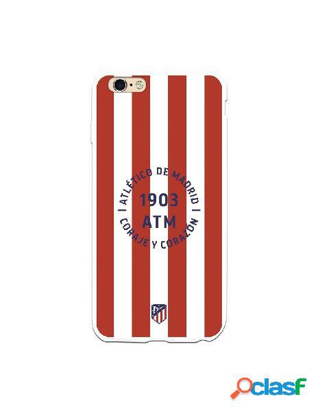 Carcasa para iPhone 6S Plus Atlético de Madrid Coraje y