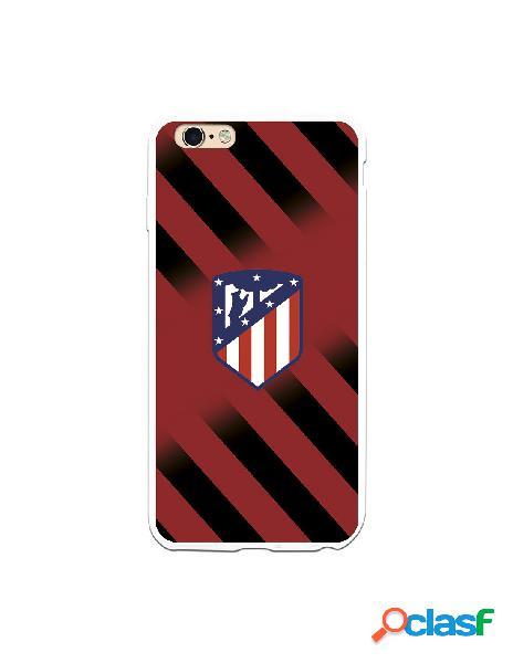 Carcasa para iPhone 6S Plus Atlético de Madrid Fondo Rojo y