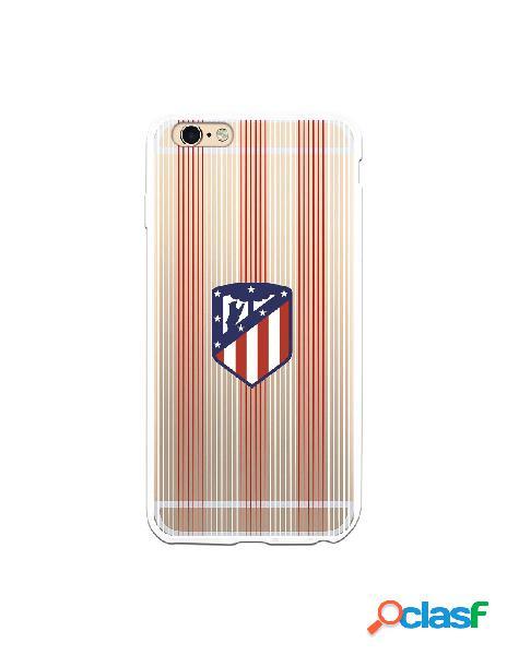 Carcasa para iPhone 6S Plus Atlético de Madrid Lineas