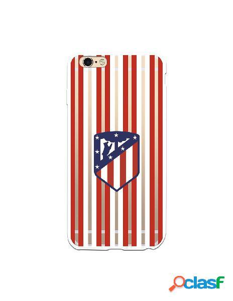 Carcasa para iPhone 6S Plus Atlético de Madrid Rojiblanco