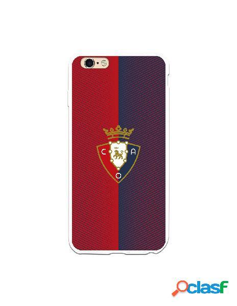 Carcasa para iPhone 6S Plus CA Osasuna Escudo Rojo y Azul -