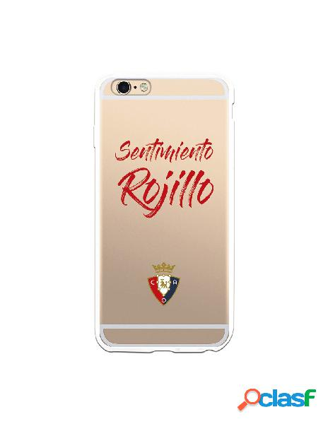 Carcasa para iPhone 6S Plus CA Osasuna Sentimiento Rojillo -