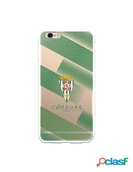Carcasa para iPhone 6S Plus Córdoba CF Trazos Verdes