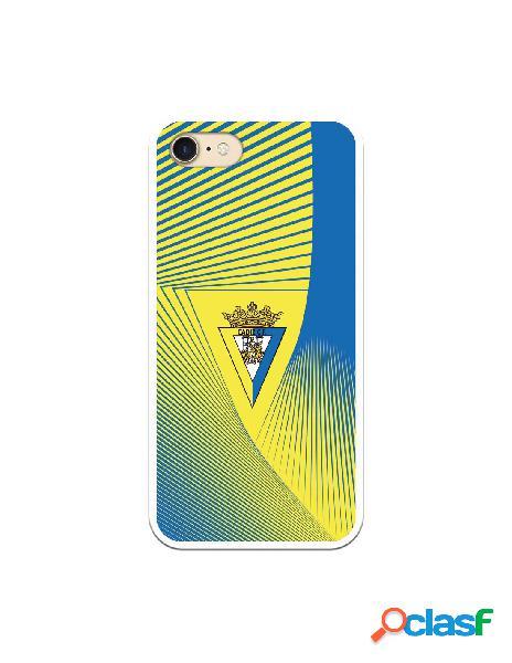 Carcasa para iPhone 7 Cádiz CF Motivo Lineal - Licencia