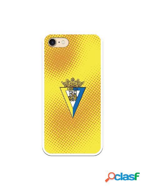 Carcasa para iPhone 7 Cádiz CF Semitono Puntos - Licencia