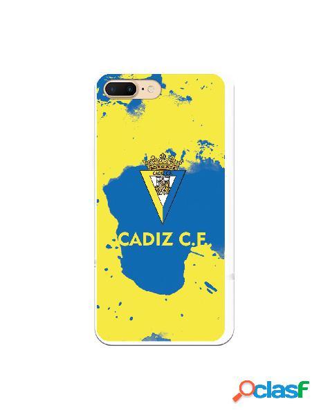Carcasa para iPhone 7 Plus Cádiz CF Manchas Azules -