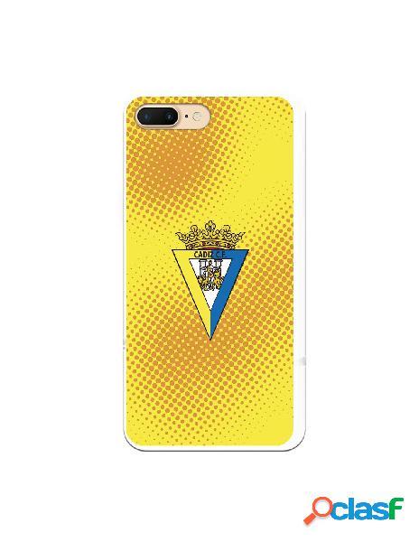 Carcasa para iPhone 7 Plus Cádiz CF Semitono Puntos -