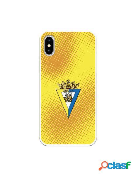 Carcasa para iPhone X Cádiz CF Semitono Puntos - Licencia