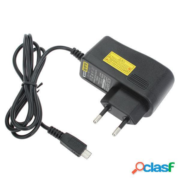 Cargador cable micro usb puerto universal de eu 5v 2a para