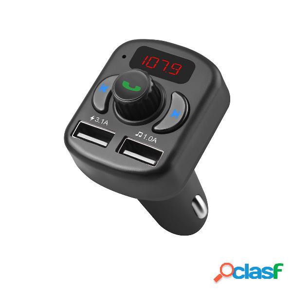 Cargador de coche Reproductor de MP3 Bluetooth multifunción