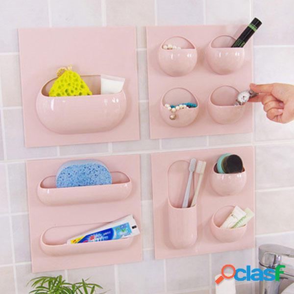 Cesta de almacenamiento de pared Cuarto de baño Kitchen