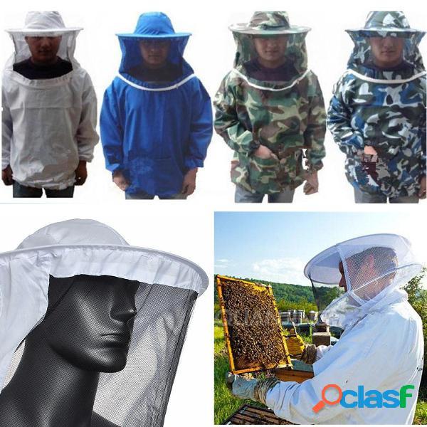 Chaqueta de apicultura Velo Bata Equipo Suministros Abeja