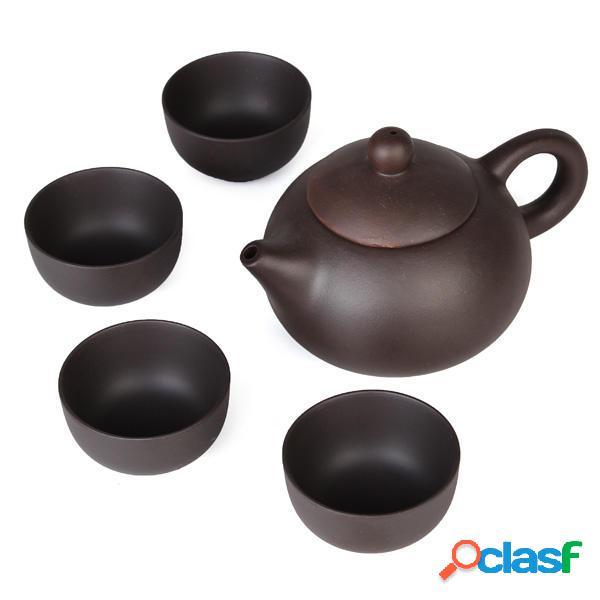 Chino del té del kung fu de 5pcs/set tazas de cerámica