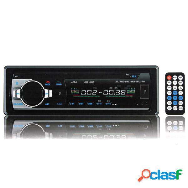 Coche 12v en bt tablero radio estéreo unidad principal 1