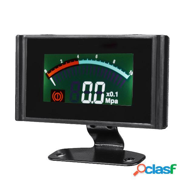 Coche LCD digital 0 ~ 1.0mpa medidor de presión de aire