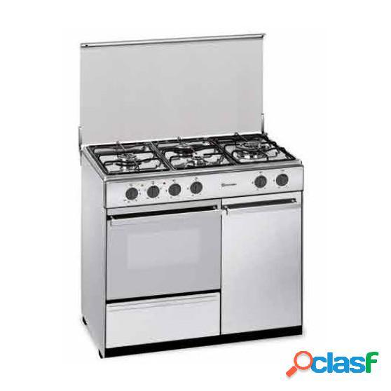 Cocina Gas y Eléctrica MEIRELES E921W Blanco but