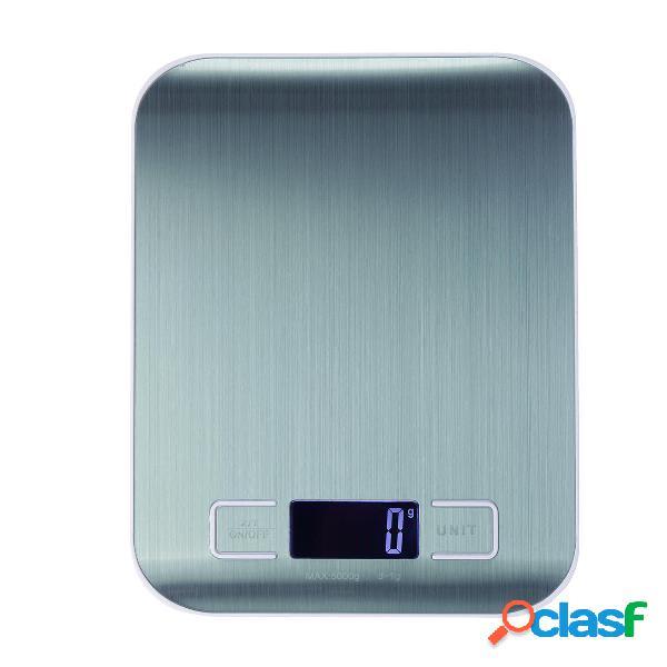 Cocina digital Escala 5 kg / 1 g 10 kg / 1 g Alimentos