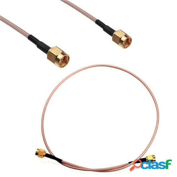 Conector de Adaptador de Cable Coaxial RG316 de la Coleta de