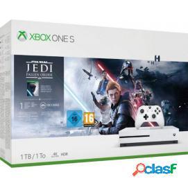 Consola Xbox One S 1TB + Star Wars Jedi: Fallen Order