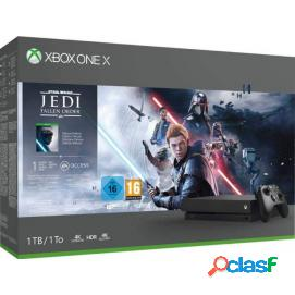 Consola Xbox One X + Star Wars Jedi: Fallen Order