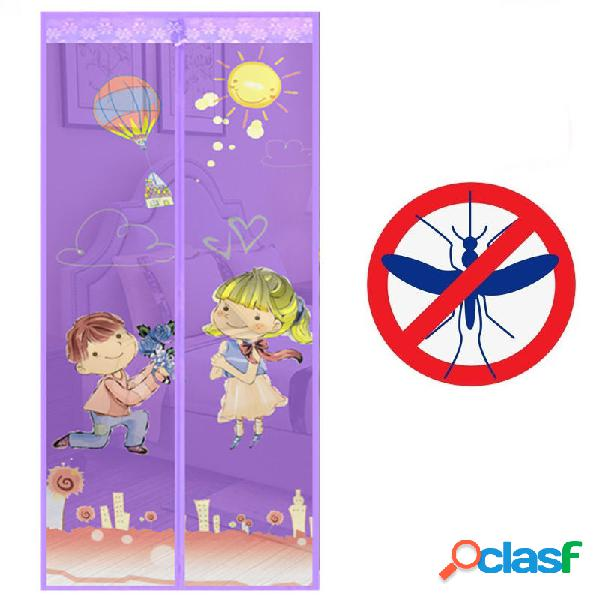 Cortinas de puerta anti mosquitos Cortina divisoria de