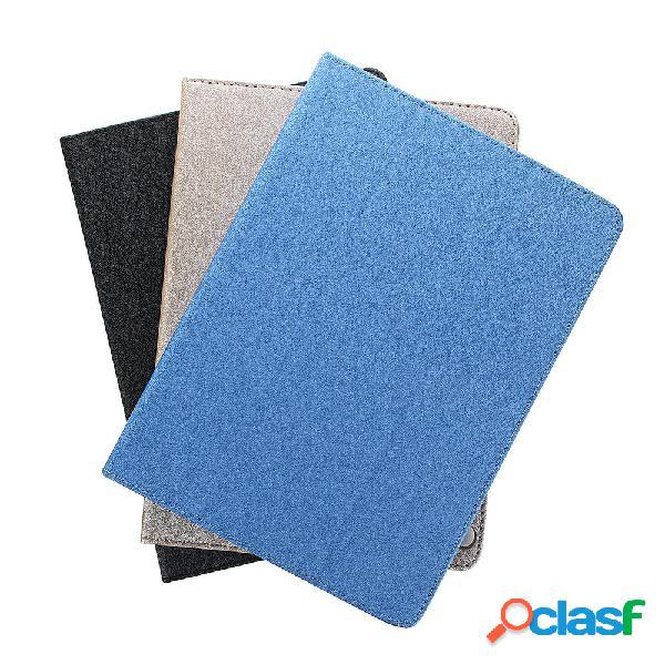 Cubierta plegable de cuero PU Caso para tableta 10.1 Inch