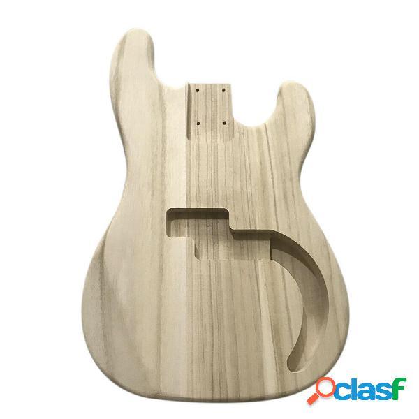Cuerpo de barril de guitarra eléctrica de madera de arce