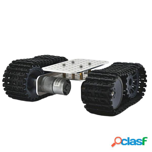 D-39 DIY Smart Aluminous RC Robot Coche Base del chasis del