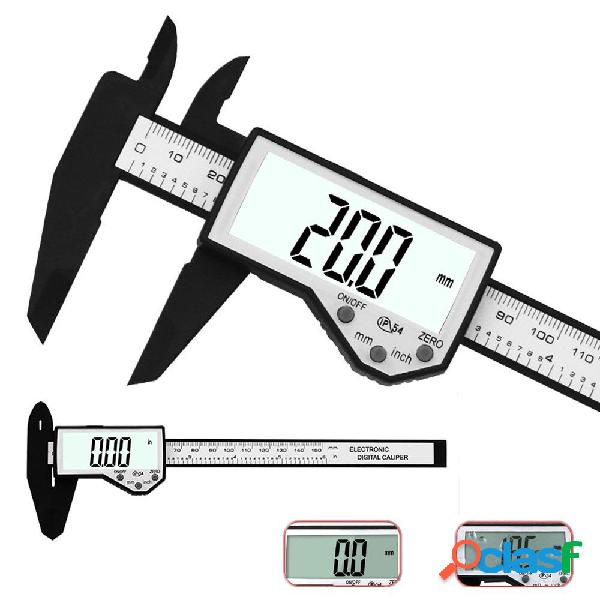 DANIU Calibrador digital de 6 pulgadas, 150 mm, electrónico