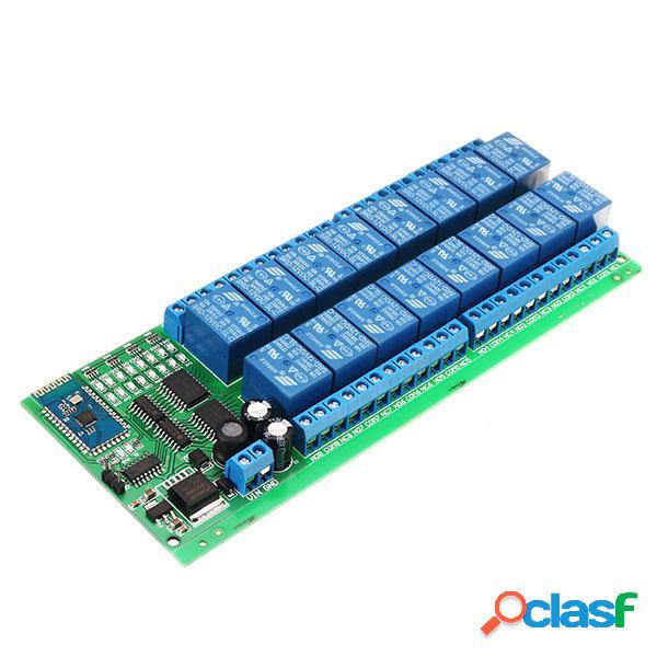DC 12V 16 Channel Bluetooth Relay Board Interruptor