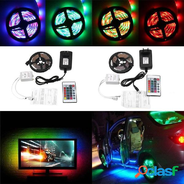 DC12V 5M No-impermeable 3528SMD LED Luces de Tira RGB