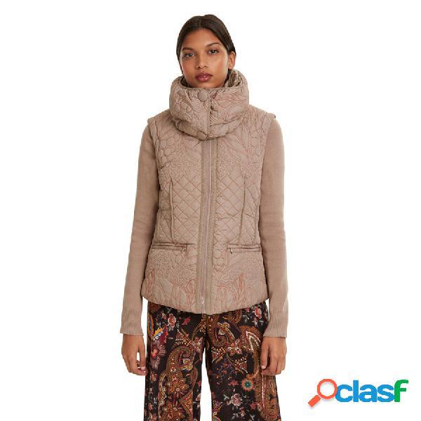 DESIGUAL Textil Chaqueta Beig Fresh 19WWEW07-1025