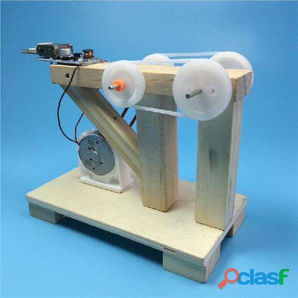 DIY Generador de manivela manual Material de educación