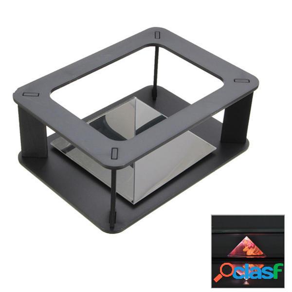 DIY Holographic 3D Pantalla Cabint Proyector Caja para