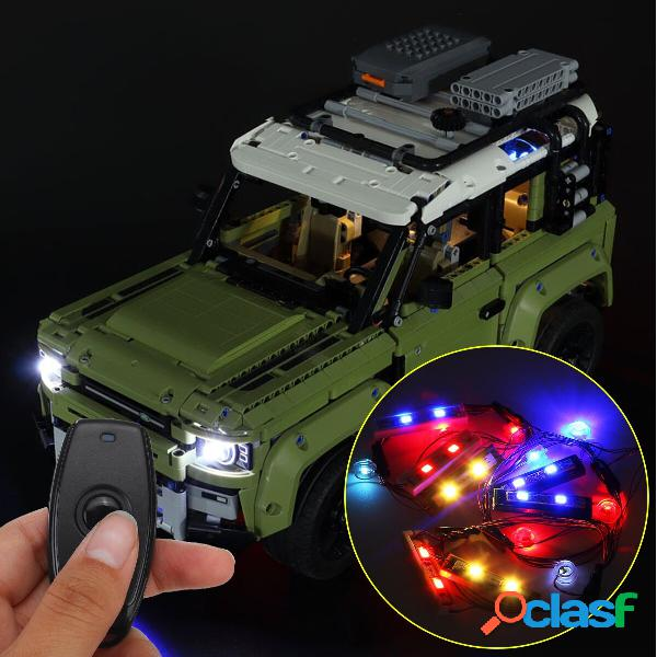 DIY USB LED Kit de luz de tira SOLO para LEGO 42110 para