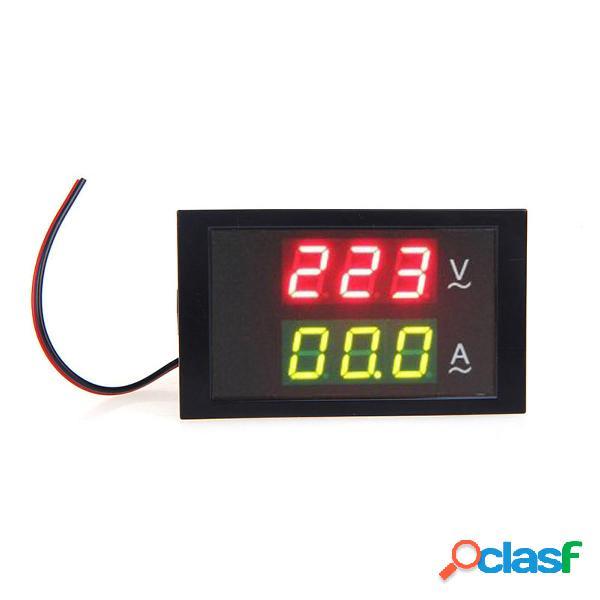 DL85-2042 Digital LED Medidor de voltaje Amperímetro