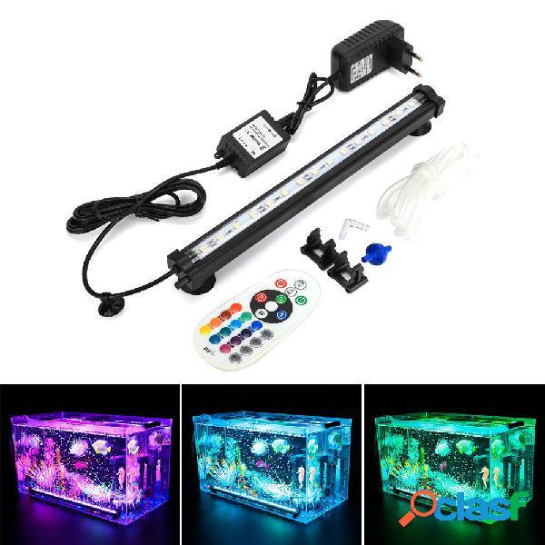 DOCEAN LED RGB Acuario Luz 28cm 16 Color RF Control remoto
