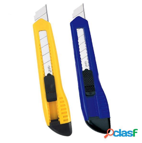 Deli 2001 2 piezas de cortador de utilidad de acero