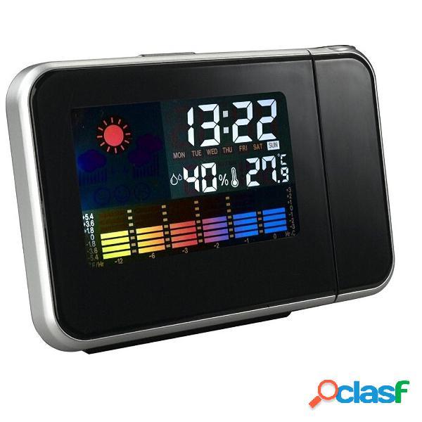 Digital LCD Temporizador de proyección de pantalla a color