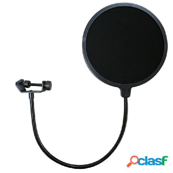 Double Layer Studio Micrófono Filtro de micrófono para