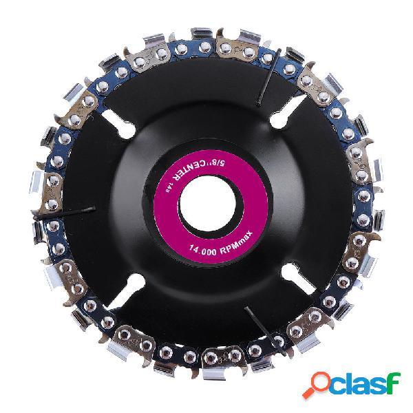 Drillpro 4 Inch Disco de talla de madera del disco 22 de la