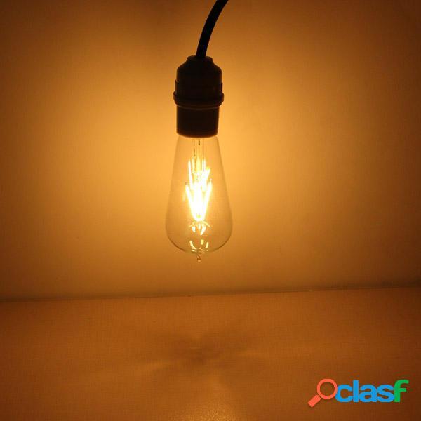 E27 135 mm ST58 4w retro LED 220v bombilla de la lámpara de