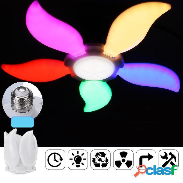 E27 90W Plegable Colorful luz LED Bombilla Ángulo de 5