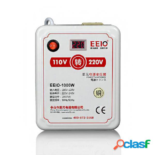 EEIO-1000W Vatios 110V a 220V Voltaje Convertidor de